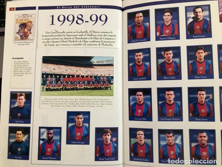 Álbum de fútbol completo: ÁLBUM CROMOS BARÇA 1899-1999, 1er CENTENARIO ** MARADONA, CRUIFF, - Foto 20 - 182896400
