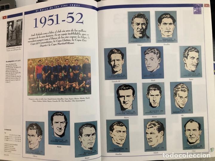 Álbum de fútbol completo: ÁLBUM CROMOS BARÇA 1899-1999, 1er CENTENARIO ** MARADONA, CRUIFF, - Foto 21 - 182896400
