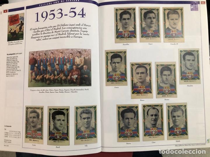 Álbum de fútbol completo: ÁLBUM CROMOS BARÇA 1899-1999, 1er CENTENARIO ** MARADONA, CRUIFF, - Foto 22 - 182896400