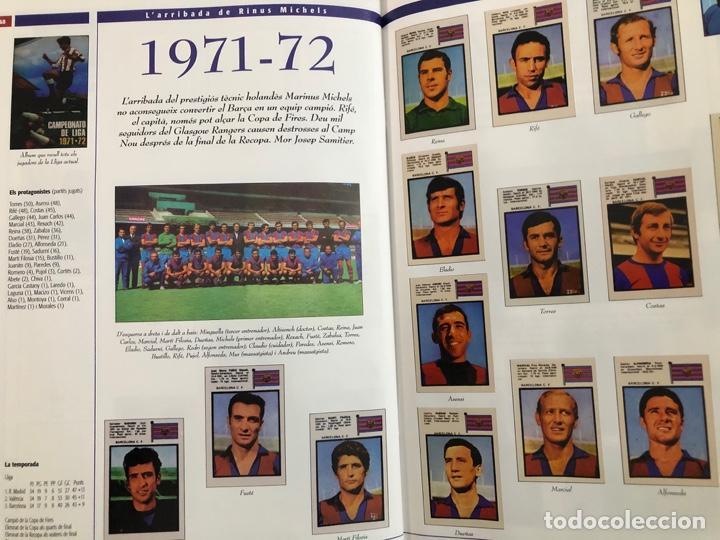 Álbum de fútbol completo: ÁLBUM CROMOS BARÇA 1899-1999, 1er CENTENARIO ** MARADONA, CRUIFF, - Foto 23 - 182896400