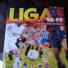 """Álbum di calcio completo: LIGA 98-99 DE """"PANINI"""" """"TOTALMENTE COMPLETO"""". Lote 236136980"""