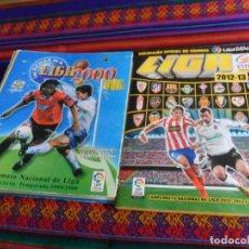 Álbum de fútbol completo: ESTE LIGA 2012 2013 12 13 COMPLETO CON TODOS LOS CHICLES. REGALO LAS FICHAS DE LA 2005 INCOMPLETO.. Lote 236689630