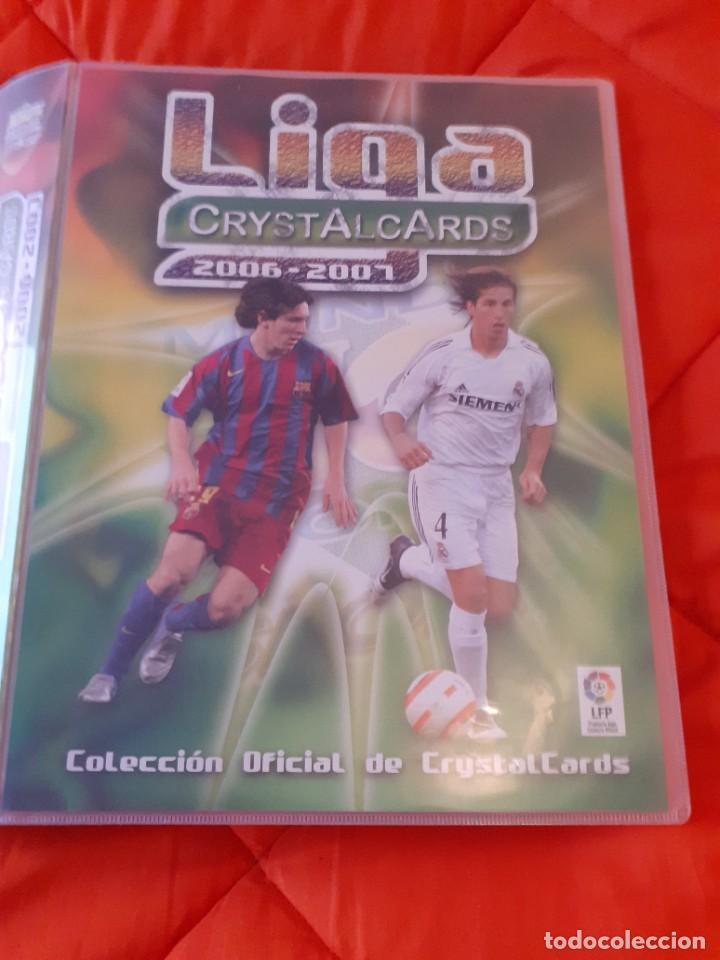 ALBUM COMPLETO. (2 MESSI) LIGA CRYSTALCARDS 2006 2007. CON TODOS SUS 414 CROMOS. MUNDICROMO (Coleccionismo Deportivo - Álbumes y Cromos de Deportes - Álbumes de Fútbol Completos)