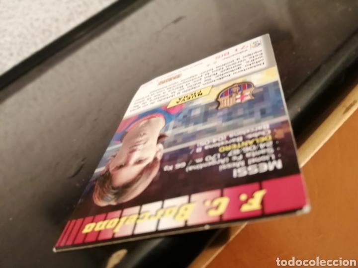 Álbum de fútbol completo: MEGACRACKS 04 LIONEL MESSI ROOKIE CARD #71 BIS MEGA CRACKS 2004 - Foto 8 - 227510544