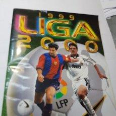 Álbum de fútbol completo: ALBUM COMPLETO LIGA 1999/2000 COLECCIONES ESTE CON TODOS LOS ÚLTIMOS FICHAJES. Lote 240889455
