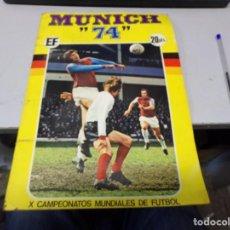 Álbum de fútbol completo: ALBUM COMPLETO FUTBOL CROMOS MUNICH 74 CON PELE BOBBY CHARLTON CRUYFF SELECCION ESPAÑOLA. Lote 242281940