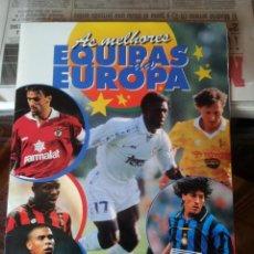 Álbum de fútbol completo: LOS MEJORES EQUIPOS DE EUROPA DE FUTBOL - PANINI EDICIÓN PORTUGUESA AÑOS 90. Lote 242467235