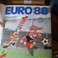 """Álbum de fútbol completo: """"EURO 88"""" DE """"PANINI"""" FANTÁSTICO ESTADO Y ENCUADERNADO EN """"TAPA DURA EN IMPRENTA"""" COMPLETO. Lote 243216710"""
