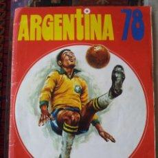 "Álbum de fútbol completo: ""ARGENTINA 78"" ""FHER"" """"EXCELENTE ESTADO"" SOLO A FALTA DE 12 CROMOS. Lote 243223185"