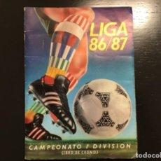 Álbum de fútbol completo: ESTE 1986 1987 86 87 ÁLBUM CON TODO LO EDITADO. PEDRAZA, HICKS, RAMON... LEER. Lote 243337630