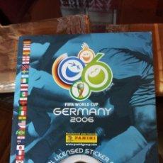 """Álbum de fútbol completo: """"EURO 2006"""" ALEMANIA."""" """"COMPLETO SOLO A FALTA DE 20 CROMOS"""". MUY BUEN ESTADO. Lote 243369055"""