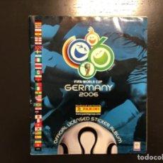 Álbum de fútbol completo: PANINI ALBUM MUNDIAL WORLD CUP 2006 GERMANY ALEMANIA COMPLETO MESSI CRISTIANO ROOKIE. Lote 243405855