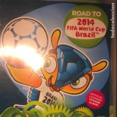 Álbum de fútbol completo: ROAD TO 2014 BRASIL PANINI COLECCIÓN COMPLETA. Lote 243909630