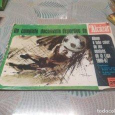 Álbum de fútbol completo: ALBUM A TODO COLOR DE LOS EQUIPOS DE LA LIGA 1966/67 EL ALCAZAR. Lote 243913430