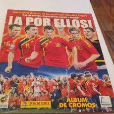 Álbum de fútbol completo: ALBUM COLECCION COMPLETO SELECCIÓN ESPAÑOLA 2009 A POR ELLOS PANINI. Lote 244739630