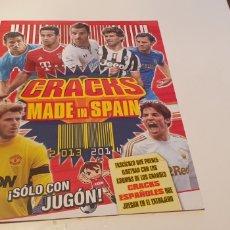 Álbum de fútbol completo: ALBUM COLECCION COMPLETA CRACKS MADE IN SPAIN 2013 2014 13 14 REVISTA JUGON PANINI. Lote 244744865
