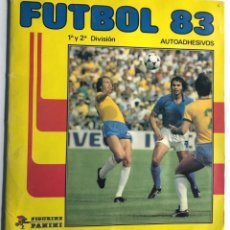 Álbum de fútbol completo: ALBUM COMPLETO / FUTBOL 83 / 1ª - 2ª DIVISION / PANINI. Lote 244879520