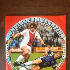 Álbum de fútbol completo: ALBUM FHER FUTBOL WORLD CUP CAMPEONATOS MUNDIALES ARGENTINA 78 MUNDIAL COMPLETO8. Lote 244913510