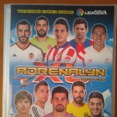 Álbum de fútbol completo: ÁLBUM CROMOS FÚTBOL ADRENALYN 2014-2015. Lote 245017220