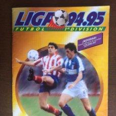 Álbum de fútbol completo: ALBUM FUTBOL LIGA ESTE 94-95 MUY COMPLETO 1994-1995 CON 149 CROMOS DOBLES. Lote 245051330