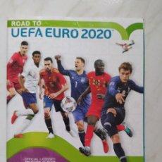 Álbum de fútbol completo: ALBUM COMPLETO DE LA UEFA EURO 2020. Lote 245778635