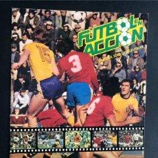 Álbum de fútbol completo: FUTBOL EN ACCIÓN / DANONE 82 / ALBUM 96 CROMOS / COMPLETO. Lote 246133310