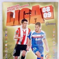 "Álbum de fútbol completo: ALBUM ED. ESTE. ""LIGA 2008-2009"".. Lote 246153750"