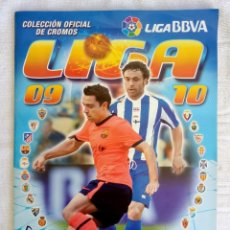 "Álbum de fútbol completo: ALBUM ED. ESTE. ""LIGA 2009-2010"". (A7). Lote 246155395"