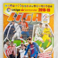 "Álbum de fútbol completo: ALBUM PANINI. ""LIGA 2018-19"". (A10). Lote 246157175"