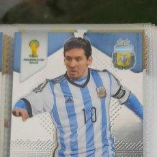 Álbum de fútbol completo: PANINI PRIZM WORLD CUP-FULL BASE CARDS (1-201)-BRASIL 2014-201 CARDS-MESSI-NEYMAR-RONALDO. Lote 246609795
