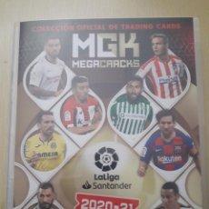 Álbum de fútbol completo: ALBUM COMPLETO MEGACRACKS 2020-2021 TODO LO EDITADO. Lote 247234645
