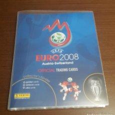 Álbum de fútbol completo: PANINI EURO 2008 TRADING CARDS-ALBUM COMPLETO 195 CARDS-MINT-ULTRA CARDS-CRISTIANO-IBRAHIMOVIC. Lote 247821540