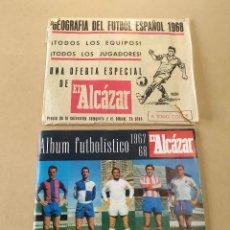 Álbum de fútbol completo: ÁLBUM FUTBOLÍSTICO 1967-68 EL ALCÁZAR - COMPLETO CON LOS CROMOS Y LÁMINAS POR PONER. Lote 248007215