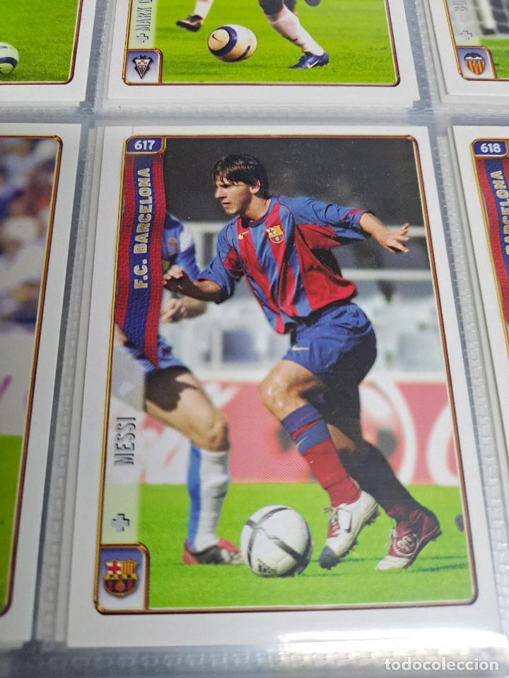 MESSI ROOKIE Nº 617 MUNDICROMO 2005 COLECCION COMPLETA (Coleccionismo Deportivo - Álbumes y Cromos de Deportes - Álbumes de Fútbol Completos)
