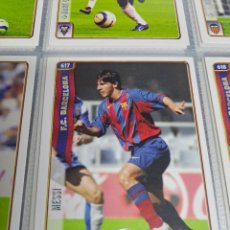 Álbum de fútbol completo: MESSI ROOKIE Nº 617 MUNDICROMO 2005 COLECCION COMPLETA. Lote 248255200