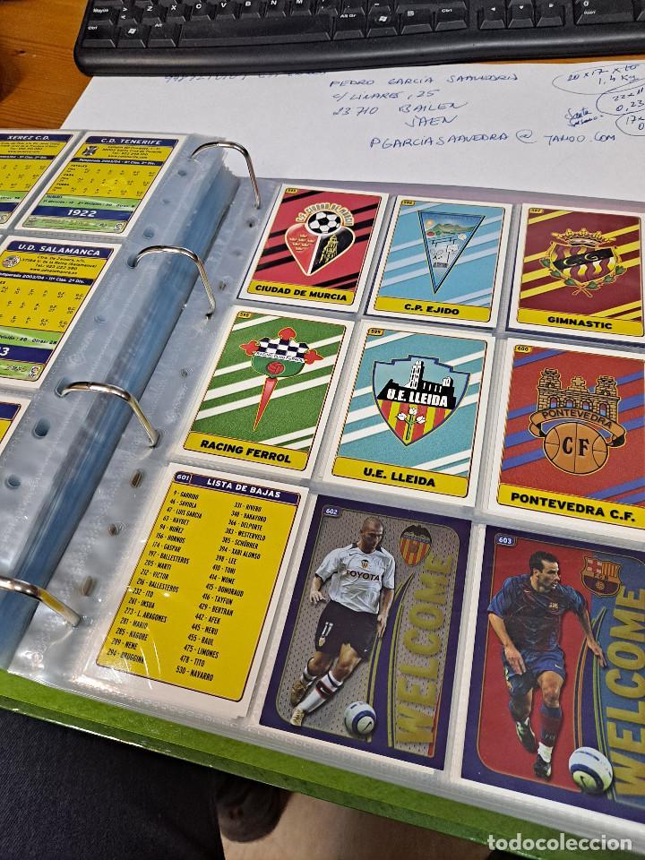 Álbum de fútbol completo: MESSI ROOKIE Nº 617 MUNDICROMO 2005 COLECCION COMPLETA - Foto 5 - 248255200