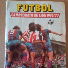 Álbum de fútbol completo: ESTE ÁLBUM 76/77 CON TODO LO EDITADO,LOS 42 DOBLES SUELTOS,CASI TODOS NUNCA PEGADOS. Lote 248498900