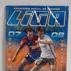 Álbum de fútbol completo: ALBUM PLANCHA EDICIONES ESTE TEMP 2007-08 CON 456 CROMOS SIN PEGAR, INCLUYE MESSI. Lote 248796835