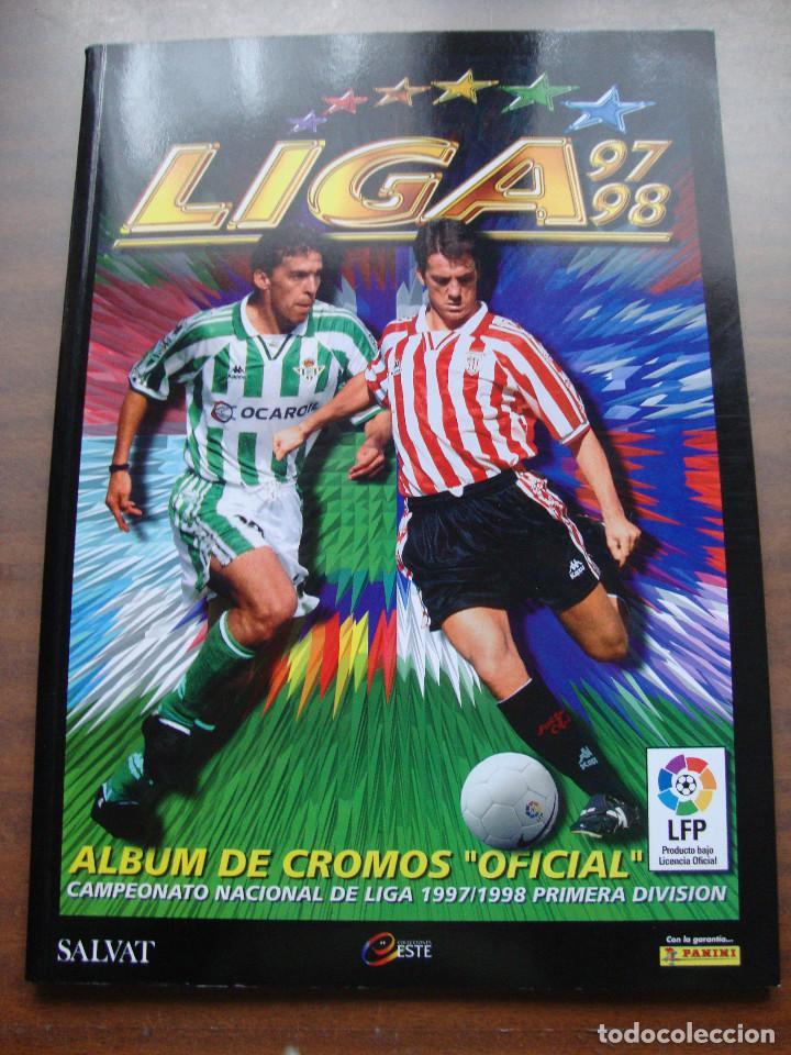 ÁLBUM DE CROMOS DE FÚTBOL.COMPLETO LIGA 97/98 SALVAT - PANINI - EDICIONES ESTE. EDICION FACSIMIL (Coleccionismo Deportivo - Álbumes y Cromos de Deportes - Álbumes de Fútbol Completos)