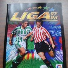 Álbum de fútbol completo: ÁLBUM DE CROMOS DE FÚTBOL.COMPLETO LIGA 97/98 SALVAT - PANINI - EDICIONES ESTE. EDICION FACSIMIL. Lote 248990545