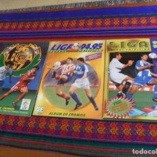Álbum de fútbol completo: CROMOS DIFÍCILES, ESTE LIGA 95 96 1995 1996 COMPLETO, 94 95 1994 1995 Y 96 97 1996 1997 INCOMPLETO.. Lote 249208665