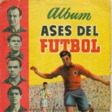 Álbum de fútbol completo: ASES DEL FUTBOL 1952 COMPLETO, DE ED..BRUGUERA. LEER COMENTARIOS. Lote 249299485