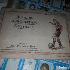 Álbum de fútbol completo: ALBUM BRITÁNICO COMPLETO DE 1934 ,MUY RARO. Lote 251122030
