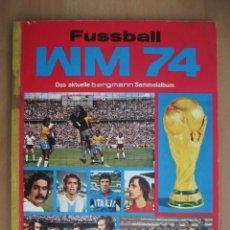 Caderneta de futebol completa: 1974 ALBUM CAMPEONATO DEL MUNDO DE FUTBOL ALEMANIA - MUNDIAL MUNICH 74. Lote 251489280