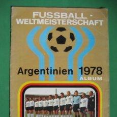 Caderneta de futebol completa: CAMPEONATOS MUNDIALES 1978 ALBUM MUNDIAL FUTBOL ARGENTINA 78 - COMPLETO, 384 CROMOS.. Lote 251493305