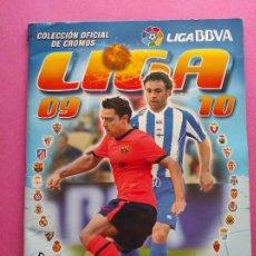 Álbum de fútbol completo: ALBUM COMPLETO LIGA ESTE 09/10 COLECCION OFICIAL CROMOS BBVA PANINI 2009/2010. Lote 252094725