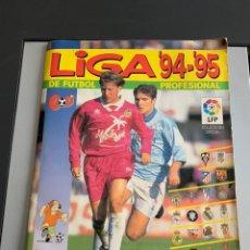Álbum de fútbol completo: ÁLBUM LIGA 94-95. PANINI. COMPLETO ( ALGÚN DOBLE ). Lote 253769345