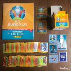 Album de football complet: UEFA EURO 2020 2021 TOURNAMENT EDITION COLECCION COMPLETA 678 CROMOS NUEVOS SIN PEGAR ALBUM PLANCHA. Lote 254074400