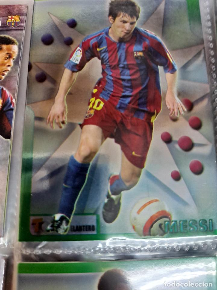 Álbum de fútbol completo: MESSI 2º AÑO DE ROOKIE AÑO 2006 COLECCION TOP 2006 MUNDICROMO COMPLETA - Foto 3 - 254087355