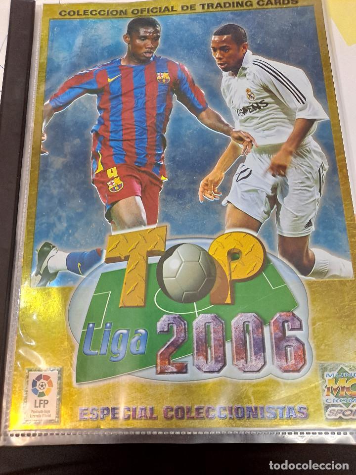 Álbum de fútbol completo: MESSI 2º AÑO DE ROOKIE AÑO 2006 COLECCION TOP 2006 MUNDICROMO COMPLETA - Foto 4 - 254087355